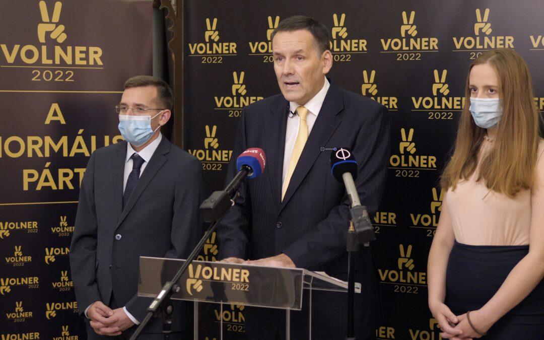 A Volner Párt bejelentése 2020. 09. 19.