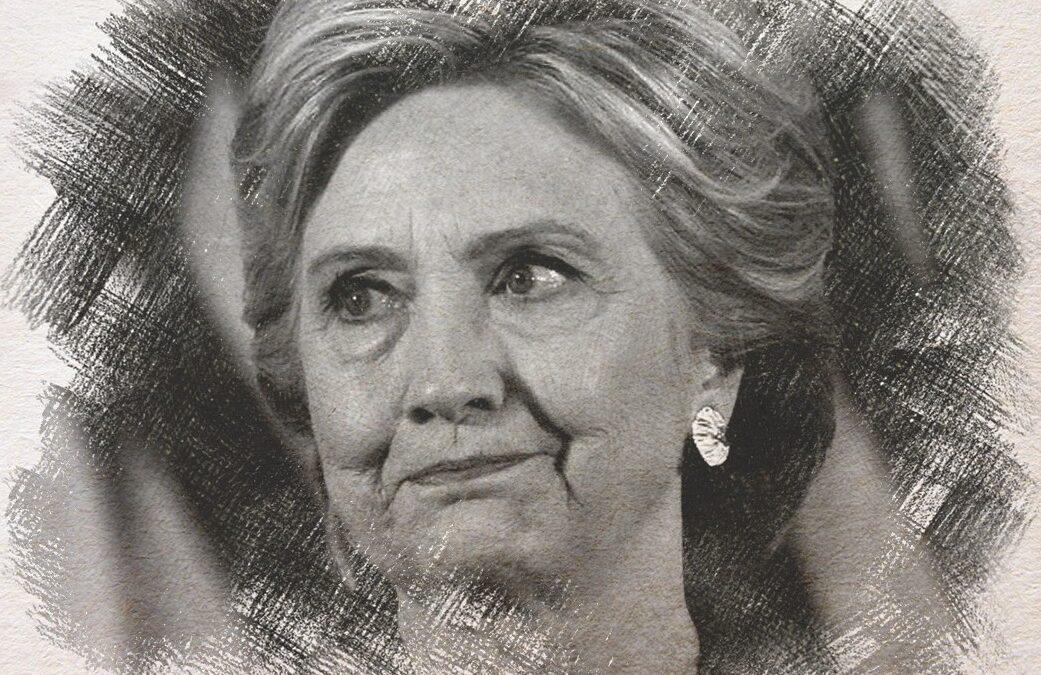 Hillary Clinton arca a vereség után