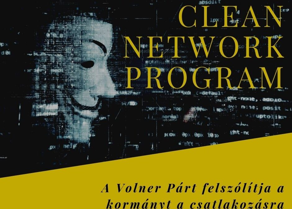 Clean Network Program - a kínai adatgyűjtési botrány margójára