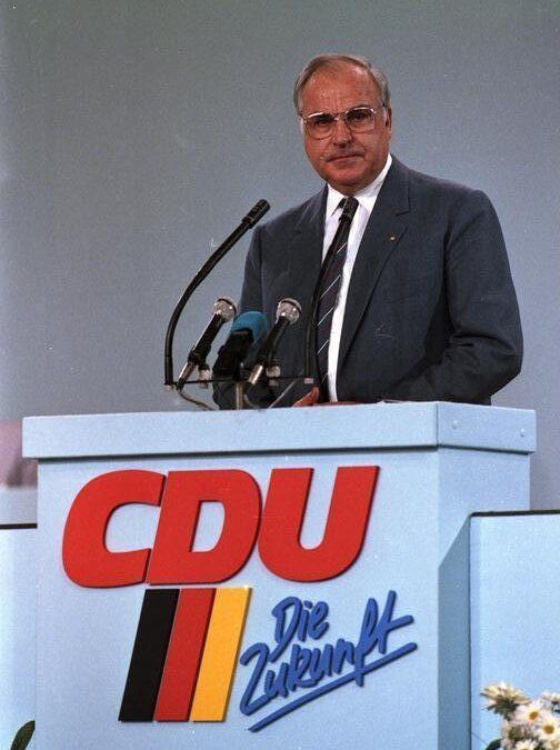 Helmut Kohl kereszténydemokrata politikus