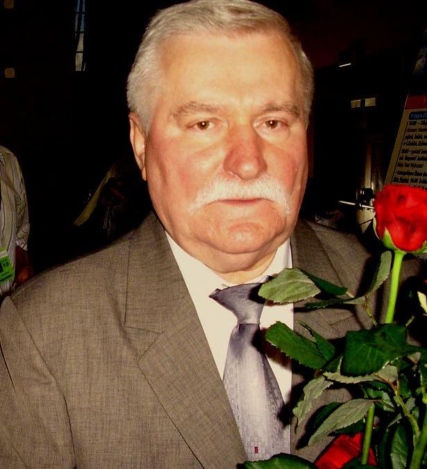 Lech Wałęsa a Lengyel Köztársaság első szabadon megválasztott elnöke